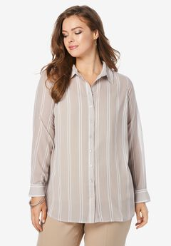 Georgette Big Shirt,