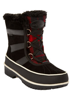 The Brienne Waterproof Boot , BLACK
