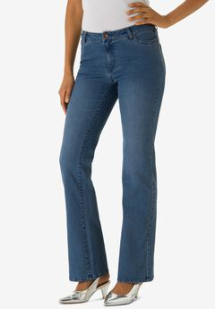 Bootcut Jean with Invisible Stretch® by Denim 24/7®,