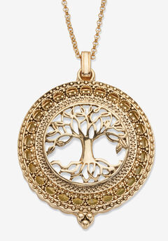 Tree of Life Pendant Necklace, 47mm,
