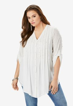 Glam-Embellished Tunic,