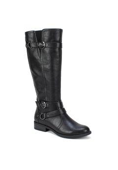 Loyal Wide Calf Boot,