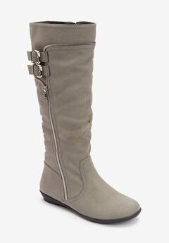 The Pasha Wide-Calf Boot ,