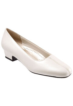 Doris Leather Pump by Trotters®,