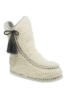 Berber Mocassin Boot Slipper Slippers,