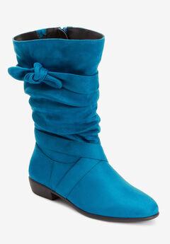 Heather Wide Calf Boot ,
