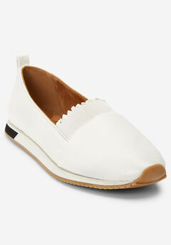 The Brielle Sneaker by Comfortview®, WHITE