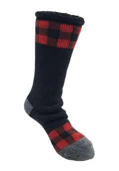 Buffalo Check Thermal Sock Socks,