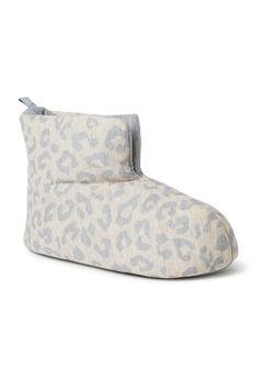 Zoey Jersey Bootie Slippers,
