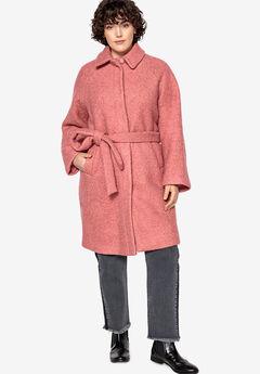 Snap-Front Boucle Coat Castaluna ,