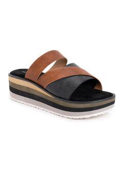 Groove Factor Platform Sandals,