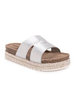 Beach Blanket Platform Sandals,
