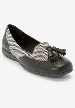The Aster Flat , BLACK PLAID