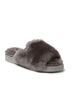 Cairns Shearling Slide Slippers,