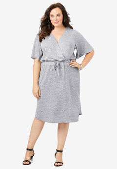 Supersoft Drawstring Dress,