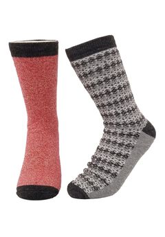 2 Pr Super Soft Polyester Thermal Insulated Thin Socks Socks,