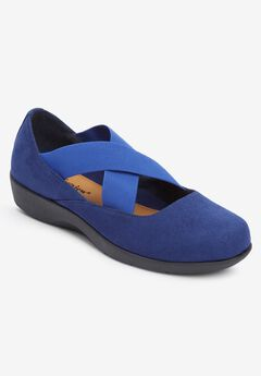 The Stacia Mary Jane Flat , EVENING BLUE