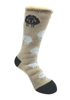 Allover Sheep Thermal Sock Socks,