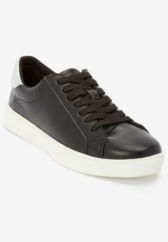 The Jamie Sneaker , BLACK SILVER