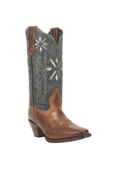 Passion Flower Wide Calf Boots,