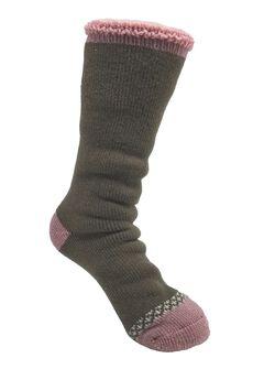 Solid Color Thermal Sock Socks,