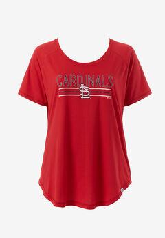 Cardinals Scoop Neck Tee,