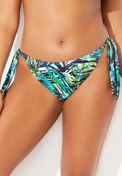 Ashley Graham Elite Bikini Bottom, MAJESTIC PALM