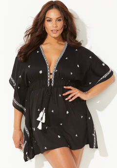 Joanna Open Front Tunic Cover Up,