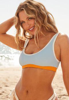 Camille Kostek Sporty Spice Bikini Top,