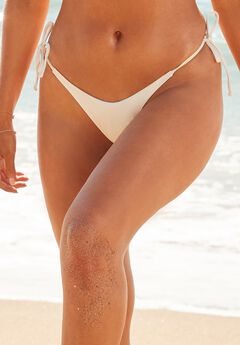 Camille Kostek Classic String Bikini Bottom,