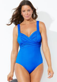 Crossover Sweetheart One Piece Swimsuit,