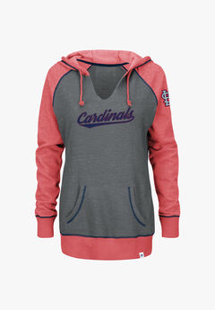 Cardinals Notch-Neck Hoodie,