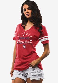 Cardinals Short-Sleeve V-Neck Tee,