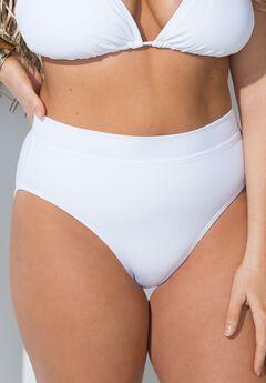 GabiFresh Oasis Bikini Bottom, WHITE