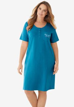 Cotton Sleepshirt ,