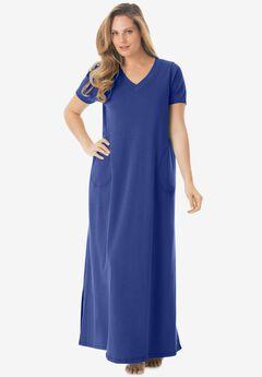 Long T-Shirt Lounger , ULTRA BLUE