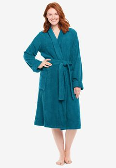 Short Terry Robe ,