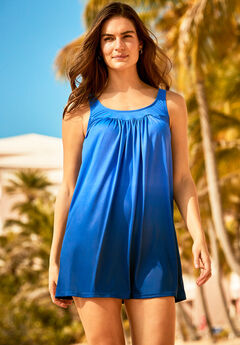 Two-Piece Ombré Swim Dress,