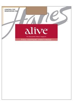 Alive Control Top Reinforced Toe 6-Pack,