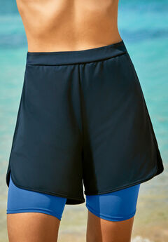 Colorblock Swim Boardshort,