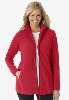 Zip-Front Microfleece Jacket,