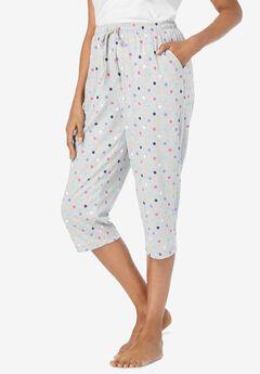 Knit Sleep Capri ,
