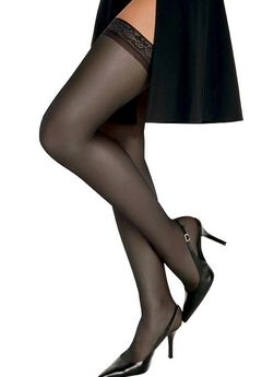 Silk Reflections Silky Sheer Thigh High,