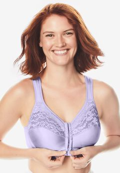 Easy Enhancer® Wireless Front Hook Cotton Bra ,
