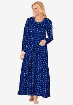 Long sleeve gown ,