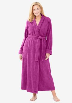 Long Terry Robe ,
