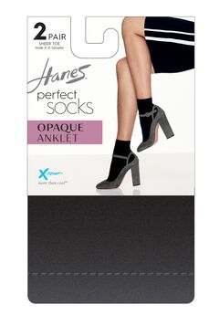 Perfect Socks Opaque Anklet P2 ST,
