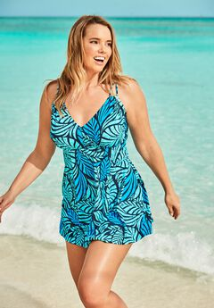 Two-Piece Swim Dress,