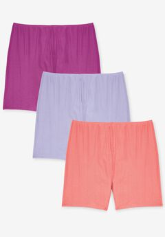3-Pack Cotton Bloomer , BRIGHT PACK