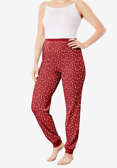 Thermal Lounge Pant , CLASSIC RED SNOW FALL